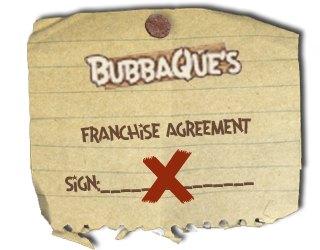 BubbaQue's Franchise Agreement